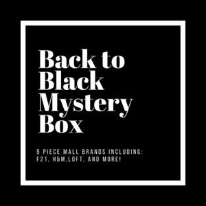 All Black 5 Piece Reseller Mystery Box